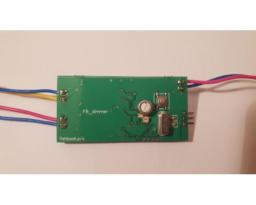 FB dimmer контроллер плавной регулировки света на кораблике