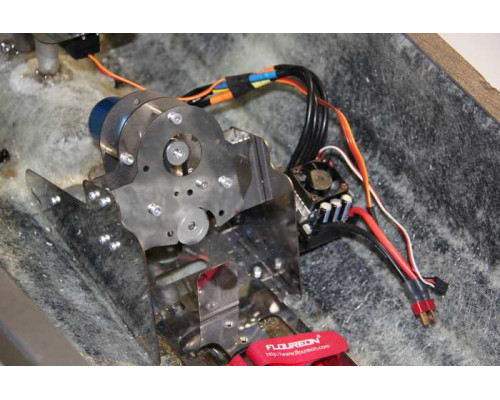 Моторная рама с редуктором Fishboat 911