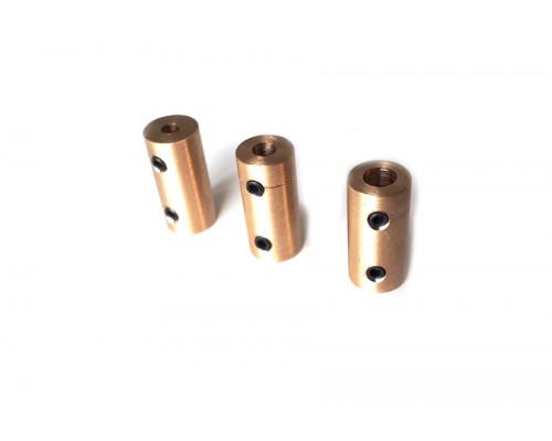 Соединительная муфта 5*4 мм латунь
