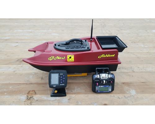 Готовый кораблик  Fishboat Leon с автопилотом FB Pilot v.Pro и эхолотом FF918-CWLS Lucky
