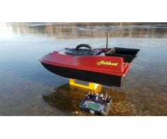 Готовый кораблик  Fishboat Leon