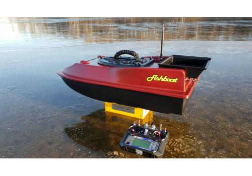 Готовый прикормочный кораблик Fishboat Leon